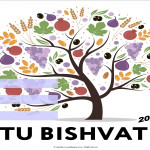 Event Poster - Tu B'Shevat - 2020 - fillable