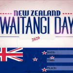 Event Poster - Waitangi Day - 2020 - fillable