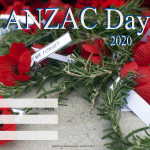 Event Poster- Anzac Day 1 - 2020 - fillable