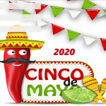Event Poster- Cinco de Mayo - 2020 - fillable