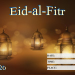 Event Poster - Eid-al-Fitr - 2020 - fillable