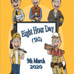 Event Poster - Eight Hour Day (TAS) - 2020
