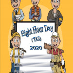 Event Poster - Eight Hour Day (TAS) - 2020 - fillable