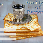 Event Poster- First Day of Passover - 2020 - fillable