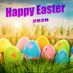 Event Poster- Happy Easter - 2020 - no date