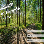 Event Poster - Int. Day of Forests - 2020 - fillable
