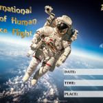 Event Poster- Int. Day of Human Space Flight - 2020 - fillable