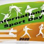 Event Poster- International Sport Day - 2020 - fillable