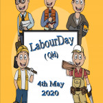Event Poster - Labour Day (QLD) - 2020