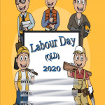 Event Poster - Labour Day (QLD) - 2020 - fillable