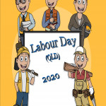 Event Poster - Labour Day (QLD) - 2020 - no date