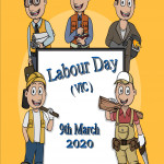 Event Poster - Labour Day (VIC) - 2020