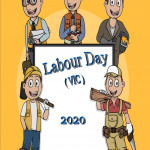 Event Poster - Labour Day (VIC) - 2020 - no date
