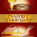 Event Poster - Maundy Thursday - 2020 - fillable