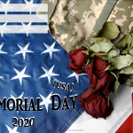 Event Poster - Memorial Day (USA) - 2020 - fillable