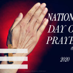 Event Poster- National Day of Prayer - 2020 - fillable