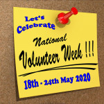 Event Poster - National Volunteer Week - 2020