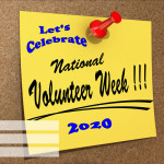 Event Poster - National Volunteer Week - 2020 - fillable