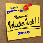 Event Poster - National Volunteer Week - 2020 - no date
