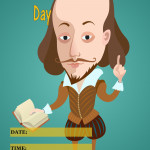 Event Poster - Shakespeare Day - 2020 - fillable