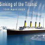 Event Poster- Sinking of the Titanic - 2020