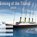 Event Poster- Sinking of the Titanic - 2020 - fillable