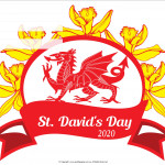Event Poster - St Davids Day - 2020 - fillable