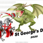 Event Poster- St Georges Day - 2020 - fillable