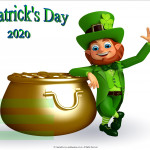 Event Poster - St Pat's Day - 2020 - fillable