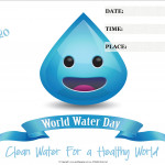 Event Poster - World Water Day - 2020 - fillable