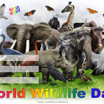 Event Poster - World Wildlife day - 2020- fillable