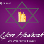 Event Poster- Yom HaShoah - 2020