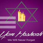 Event Poster- Yom HaShoah - 2020 - fillable