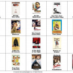 Oscar Winners - Bingo Cards