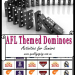 AFL Themed Dominoes
