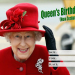Event Poster - Queens Birthday (NZ) - 2020 - fillable