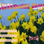Event Poster - Daffodil Day - 2020 - fillable