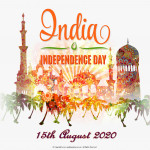 Event Poster - India Independence Day - 2020