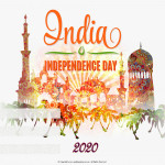 Event Poster - India Independence Day - 2020 - fillable