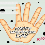 Event Poster - International Left Handers Day - 2020 - fillable