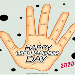 Event Poster - International Left Handers Day - 2020 - no date