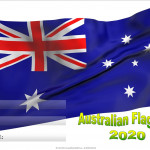 Event Poster - Australian flag day - 2020 - fillable