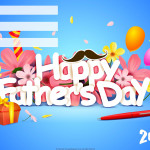 Event Poster - Fathers Day - 2020 - fillable