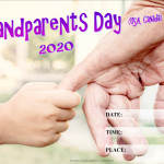 Event Poster - Grandparents Day (USA) - 2020 - fillable