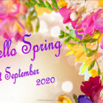 Event Poster - Hello Spring - 2020