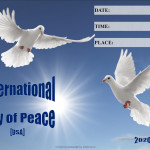 Event Poster - Int Day of Peace - 2020 - fillable