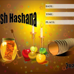 Event Poster - Rosh Hashana - 2020 - fillable