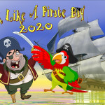 Event Poster - Talk like a Pirate Day 2 - 2020 - no date