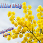 Event Poster - Wattle Day - 2020